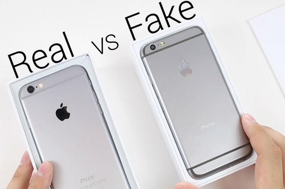 Perbedaan iPhone Replika/KW dengan Asli