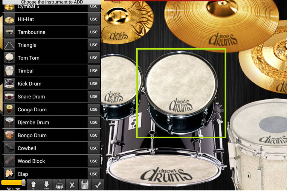 Aplikasi Real Drum XD for iOS