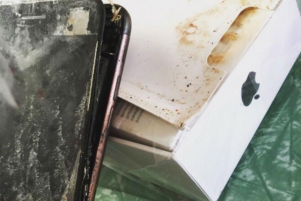iPhone 7 miliki Lee Hayes yang meledak