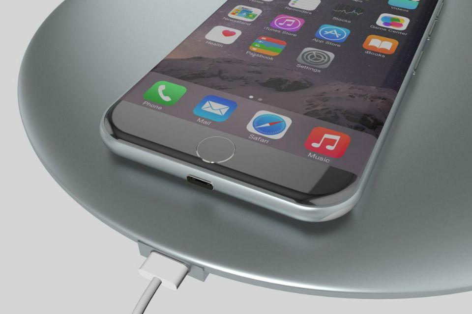 Fitur wireless charging dari iPhone 8
